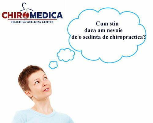 Read more about the article Cum știu dacă am nevoie de o ședință de chiropractică?