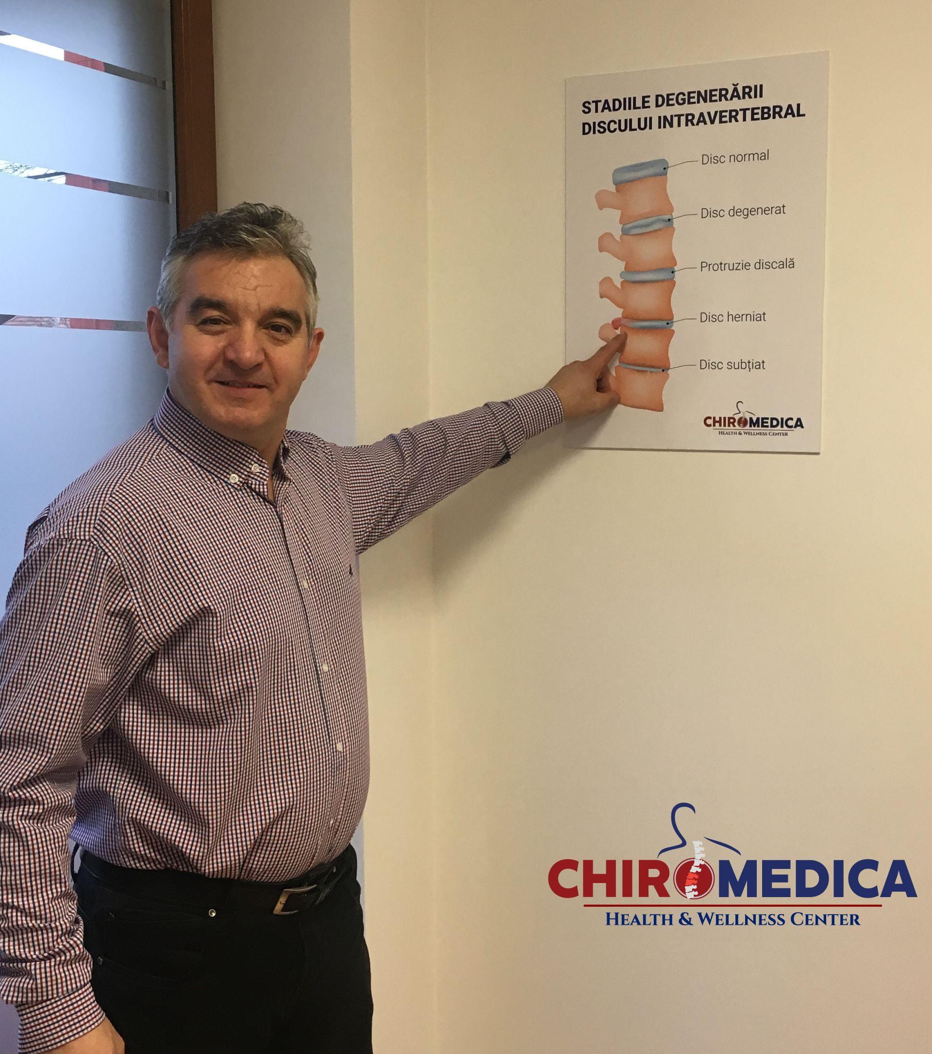 tratament hernie de disc chiromedica cluj