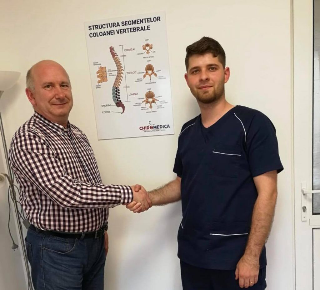 chiropractor cluj Molnar Mihaly