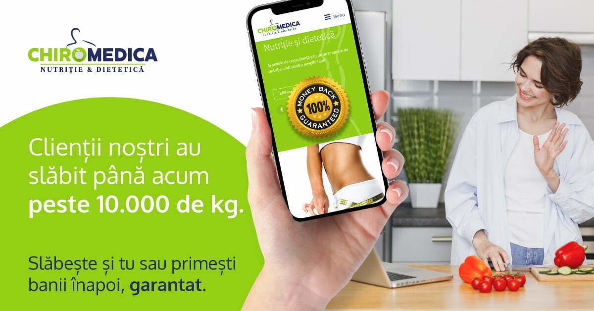 chiromedica bannere site nutritie web